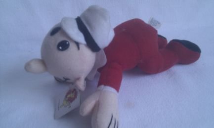 Vintage Rare 1993 'Baby Sweet Pea' Popeye Collectable Plush Toy + Tag